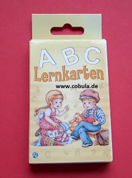 ABC Lernkarten (ab 3 Jahre)