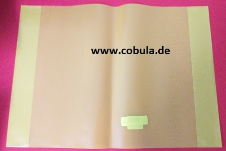 Heftschoner, transparent DIN A4 gelb