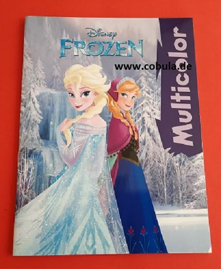 Frozen Multicolor Malbuch