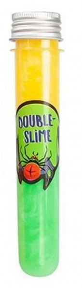 GRUSELALARM Double-Slime im Reagenzglas 2-farbig