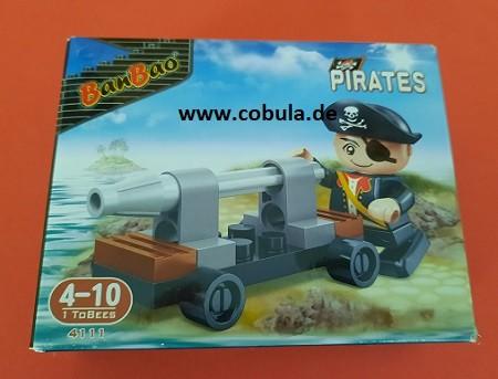 BanBao Piratenset (ab 3 Jahre)