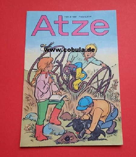 Atze 3 / 1989 DDR Kinderzeitschrift