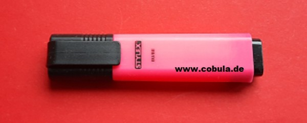 Textmarker Farbe Pink
