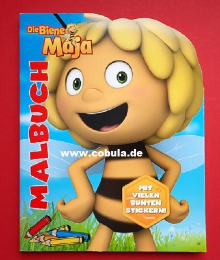 Biene Maja Malbuch mit Stickern (ab 4 Jahre)