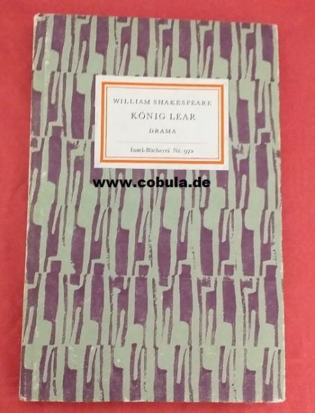 König Lear Insel Bücherei Nr. 972