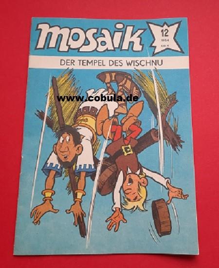 Mosaik Heft 12/1984 Der Tempel des Wischnu