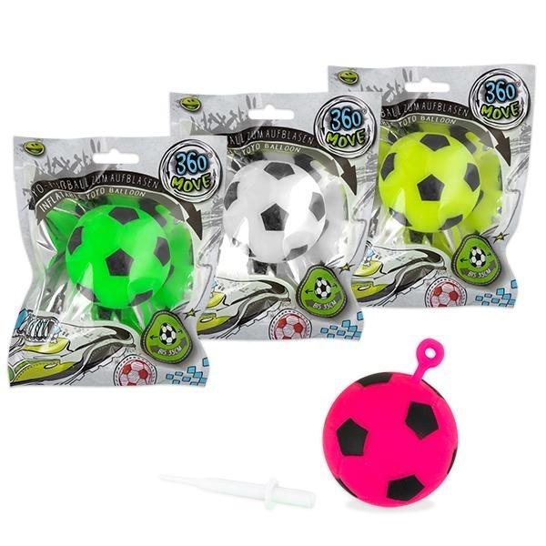 360° MOVE Yoyo-Fußball zum Aufblasen Farbe Gelb (ab 3 Jahre)