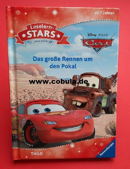 Leselern-Stars Für Leseanfänger Cars (ab 7 Jahre)
