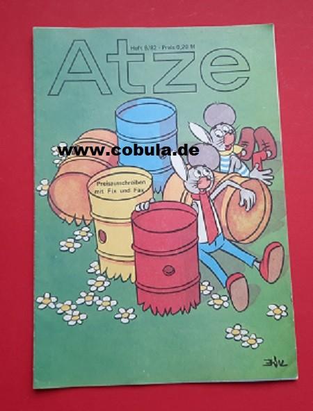 Atze 9 / 1982 DDR Kinderzeitschrift