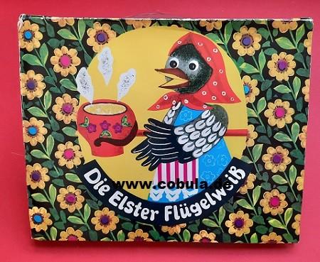 Die Elster Flügelweiß DDR Pop up Buch