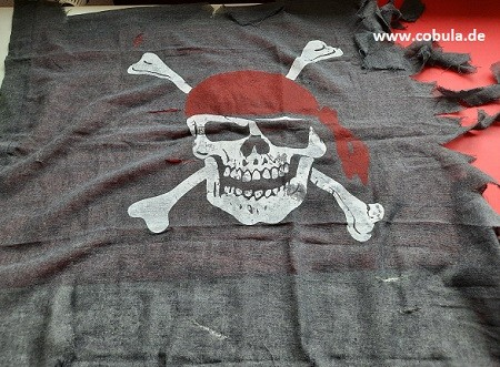 Piratenflagge (ab 3 Jahre)