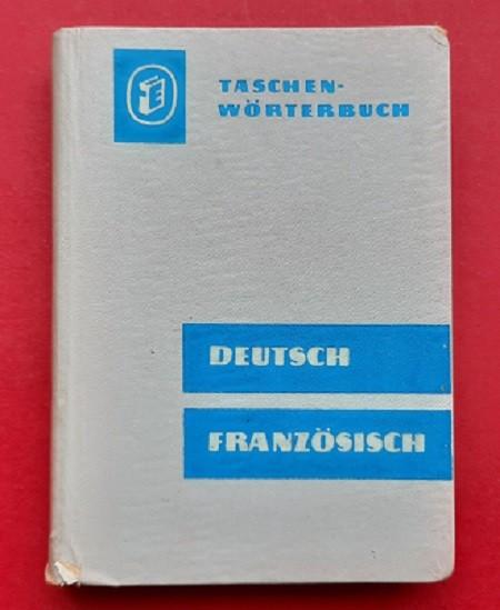 Deutsch-französisches Taschenwörterbuch in Ledereinband