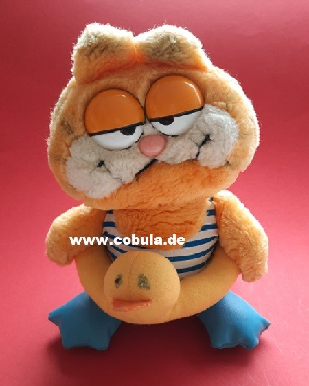 Plüschtier Garfield mit Schwimmring (ab 3 Jahre)