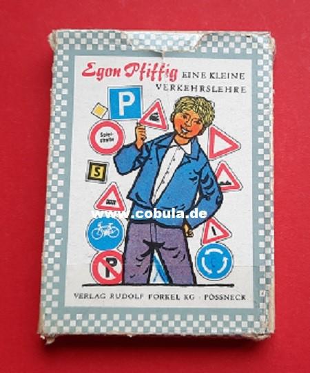 DDR Quartett Kartenspiel Egon Pfiffig