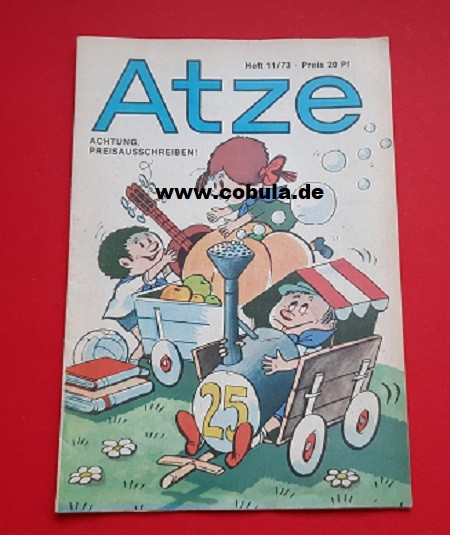 Atze 11 / 1973 DDR Kinderzeitschrift
