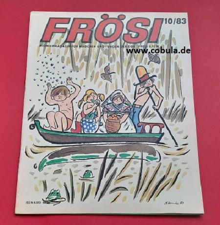 Frösi 10/83 DDR Pioniermagazin für Mädchen und Jungen