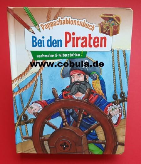 Pappschablonenbuch Bei den Piraten (ab 3 Jahre)