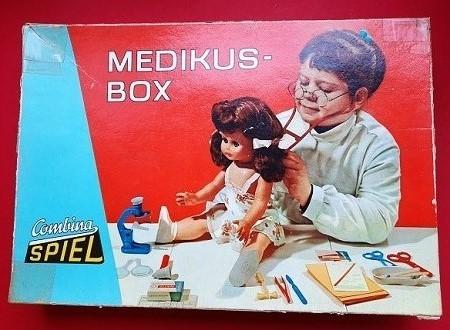 DDR Combina Spiel Medikus – Box (ab 3 Jahre)
