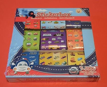 Stickerbox Fahrzeuge