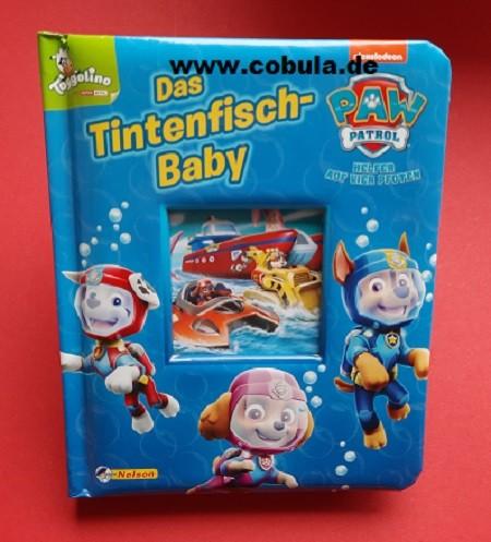 PAW Patrol: Das Tintenfisch-Baby (Pappenbuch)