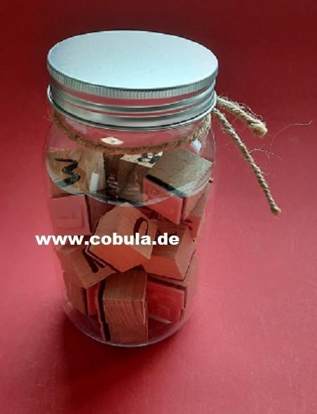 Stempelset ohne Stempelkissen in Plaste Schraubdose (ab 3 Jahre)