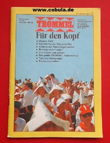 Trommel Miniausgabe für das Schuljahr 1987/88