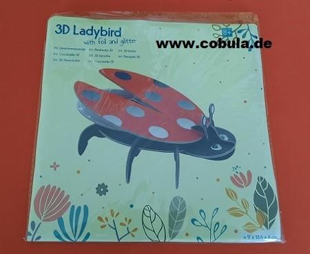 3D Marienkäfer Ladybird (ab 3 Jahre)