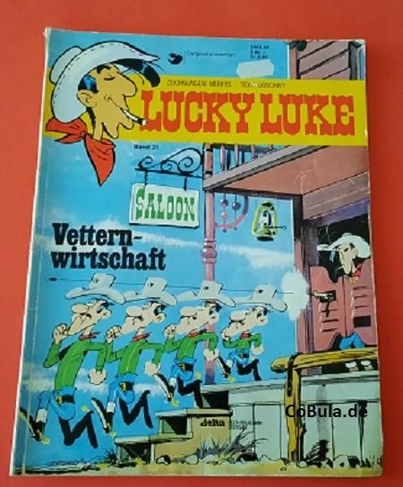 Lucky Luke Band 21 Vetternwirtschaft