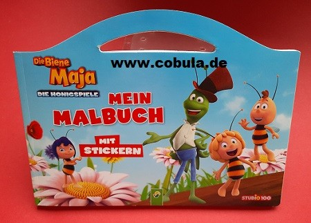 Biene Maja Mein Malbuch (ab 3 Jahre)