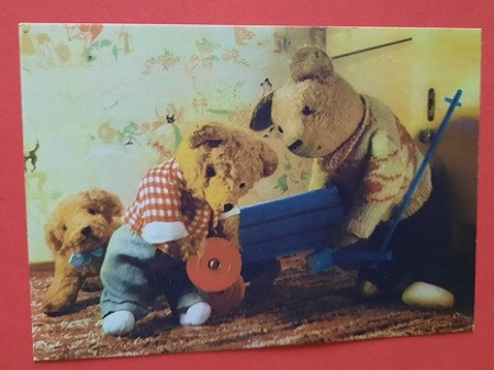 Teddybär Postkarten