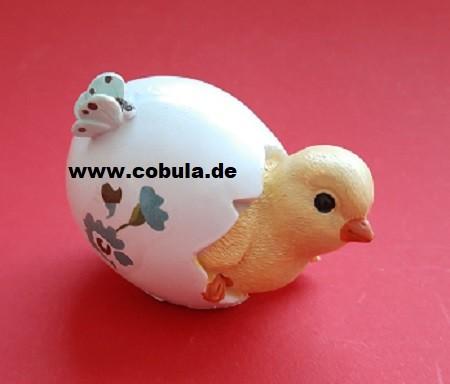 Kükenfigur im Ei