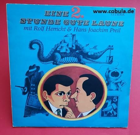 DDR Schallplatte Eine 2. Stunde Gute Laune mit Rolf Herricht & Hans-Joachim Preil