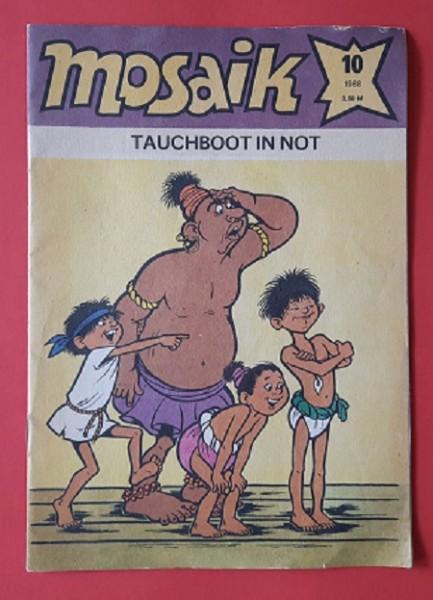 Mosaik Heft 10/1988 Tauchbot in Not