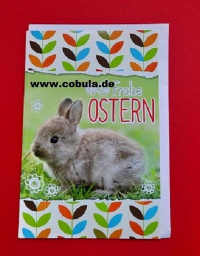 Osterkarte mit Umschlag