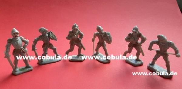 DDR Ritter 6 Stück Vintage (ab 3 Jahre)