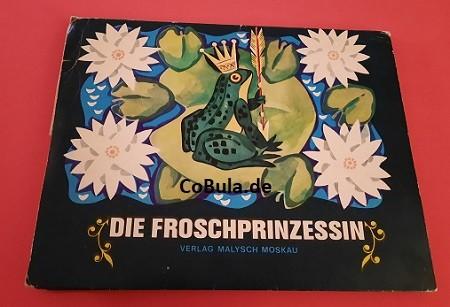 Die Froschprinzessin DDR Pop up Buch