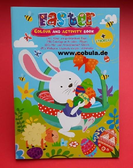 Osterspielbuch mit Stickern (ab 3 Jahre)