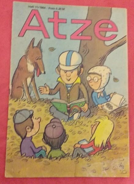 Atze Heft 11/1984 DDR Kinderzeitschrift