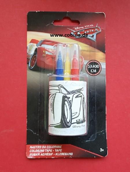 Lizenz Cars Disney Malbuch klein mit Stiften (ab 3 Jahre)