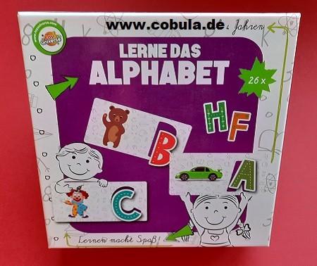 Lerne das Alphabet (ab 4 Jahre)