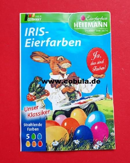 Eierfarben Iris 5er zum Kochen (ab 3 Jahre)