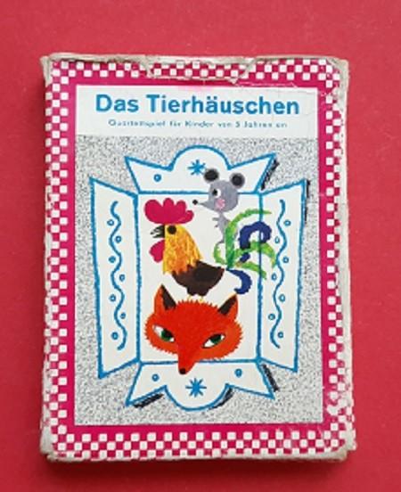 DDR Quartettspiel Das Tierhäuschen