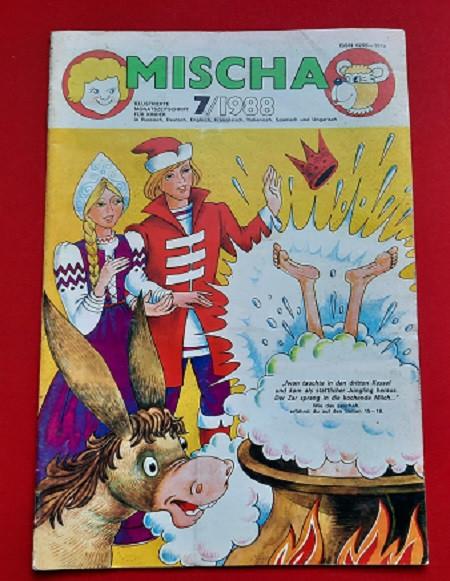 DDR Heft Mischa 7/1988