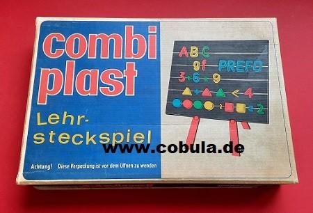 DDR Spielzeug PREFO COMBIPLAST Lehrsteckspiel (ab 3 Jahre)