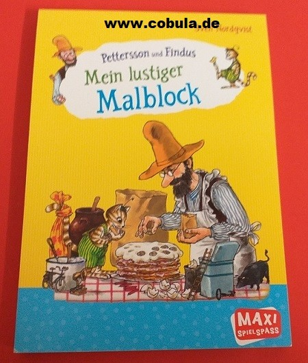 Peterson und Findus Mein lustiger Malblock (ab 4 Jahre)