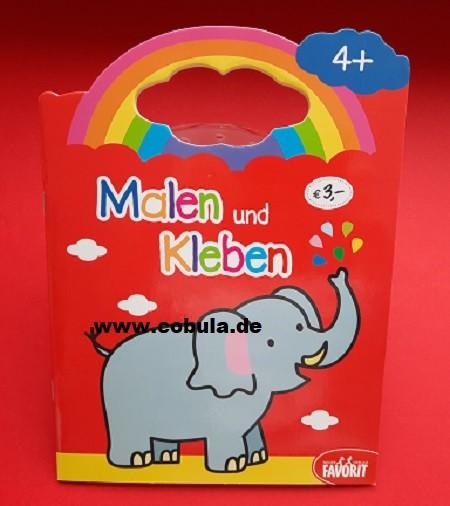 Malen und Kleben Elefant (ab 4 Jahre)