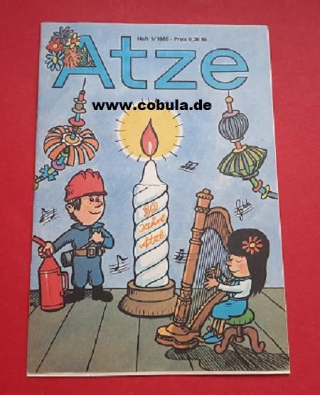 Atze 10 / 1981 DDR Kinderzeitschrift
