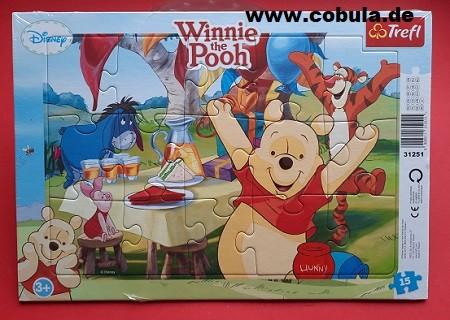 Disney Winni Pooh Puzzle (ab 3 Jahre)