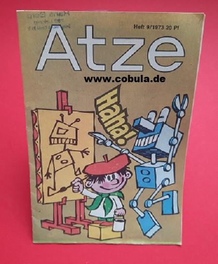 Atze 9 / 1973 DDR Kinderzeitschrift