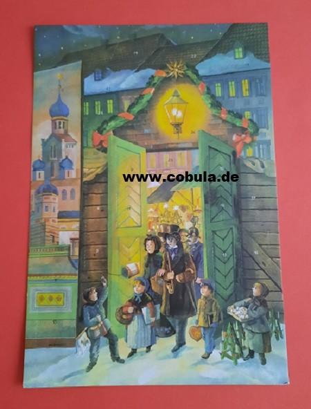 DDR Weihnachtskalender Altberliner Weihnachtsmarkt